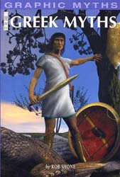 Buy Graphic Myths - Greek Myths from Daintree Books