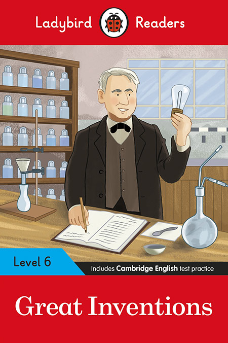 Buy Great Inventions - Ladybird Readers Level 6 from BooksDirect