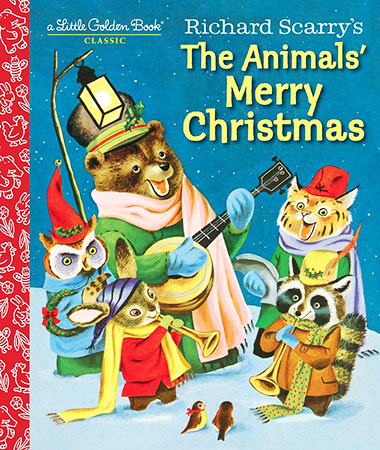 Buy A Little Golden Book: Richard Scarry's The Animals' Merry Christmas from BooksDirect