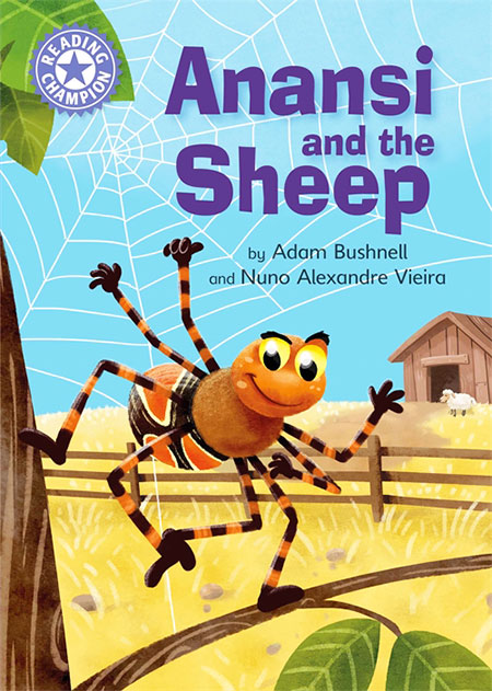Buy Reading Champion: Anansi and the Sheep from BooksDirect