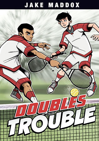 Buy Jake Maddox Boys Sports Stories: Doubles Trouble from Daintree Books