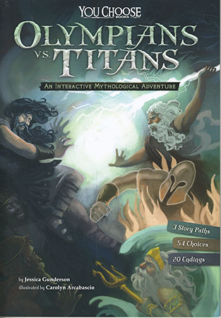 Buy You Choose: Ancient Greek Myths: Olympians vs. Titans: An Interactive Mythological Adventure from Daintree Books