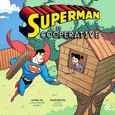 Buy DC Super Heroes Character Education: Superman Is Cooperative from raintreeaust