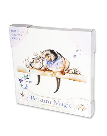 Buy Possum Magic + Canvas Picture from BooksDirect