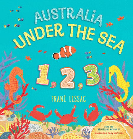 Buy Australia Under the Sea 1 2 3 from BooksDirect