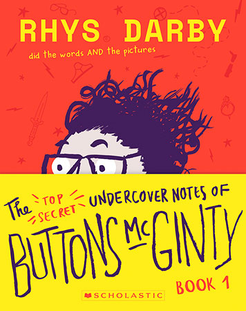 Buy Top Secret Undercover Notes of Buttons McGinty from Carnival Book Shop Kids Choice