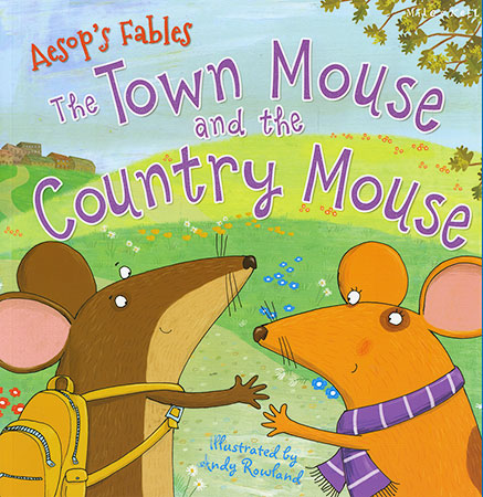 Buy Aseop's Fables: The Town Mouse and the Country Mouse from BooksDirect