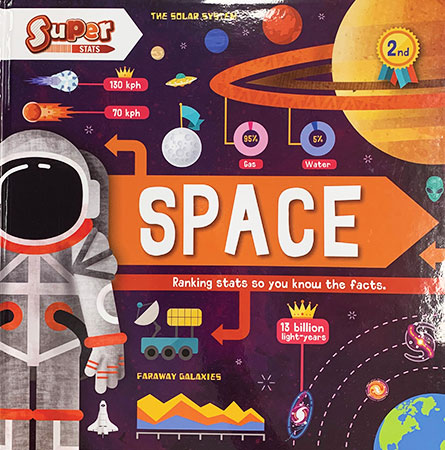 Buy Super Stats: Space from BooksDirect