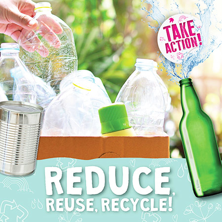 Buy Take Action: Reduce, Reuse, Recycle from Daintree Books