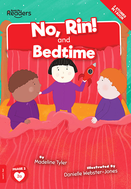 Buy BookLife Readers: Level 2 (Red) No, Rin! and Bedtime from Daintree Books