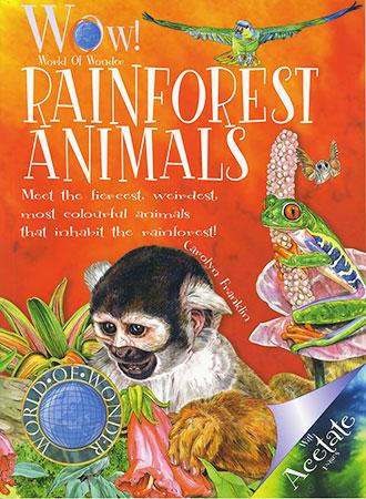 Buy WOW World of Wonder: Rainforest Animals from Daintree Books