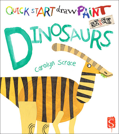 Buy Quick Start Draw Paint: Dinosaurs from BooksDirect
