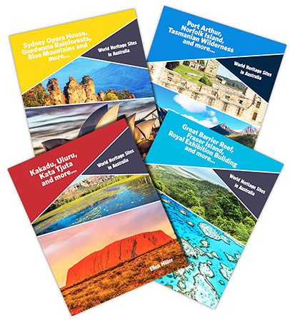 Buy World Heritage Sites in Australia Paperback Series Pack of 4 from Daintree Books