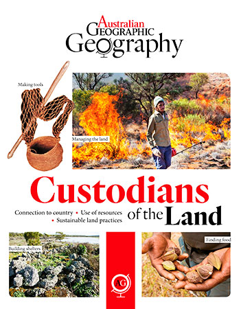 Buy Australian Geographic Geography: Custodians of the Land from Daintree Books