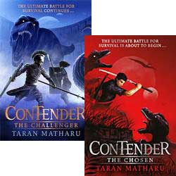 Contender - Set of 2 book