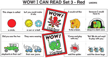 Wow! I Can Read Set 3