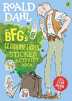 BFG's Gloriumptious Sticker Activity Book The