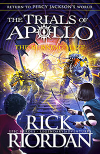 Buy Burning Maze (The Trials Of Apollo Book 3), The from BooksDirect