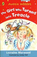 Aussie Nibbles: The Girl who Turned into Treacle