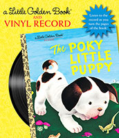 The Poky Little Puppy Book And Vinyl Record