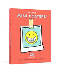 Buy Raina's Mini Posters: 20 Prints to Decorate Your Space at Home and at School from BooksDirect