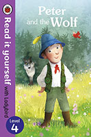 Buy Read it Yourself with Ladybird: Level 4 Peter and the Wolf from BooksDirect
