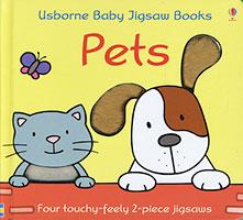 Usborne Baby Jigsaw Books: Pets