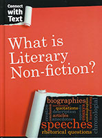 Connect With Text: Literary Non-fiction