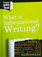 Connect With Text: Informational Writing