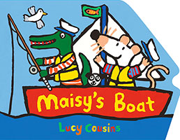 Buy Maisy's Boat Shaped Board Book from Top Tales