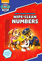 Paw Patrol Wipe Clean Numbers