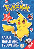 Pokemon: Catch, Hatch and Evolve Sticker Activity