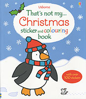 That's not my... Christmas Sticker and Colouring Book