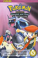 Pokemon Diamond & Pearl: #5 Manga