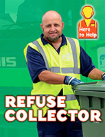 Buy Here to Help: Refuse Collector from BooksDirect