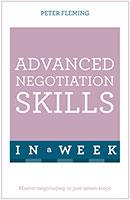 Advanced Negotiation Skills In A Week