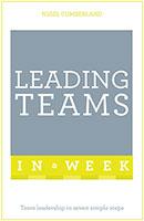 Leading Teams In A Week