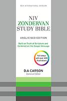 NIV Zondervan Study Bible (Anglicised)