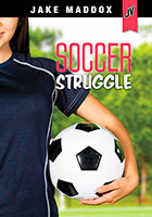 Buy Jake Maddox JV Girls: Soccer Struggle from BooksDirect