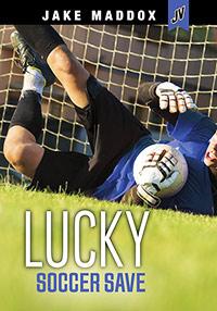 Jake Maddox JV: Lucky Soccer Save