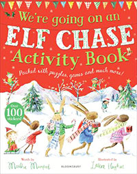We're Going on an Elf Chase Activity Book