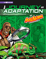 Buy Graphic Science 4D: A Journey into Adaptation with Max Axiom, Super Scientist: 4D An Augmented Reading Science Experience from Book Warehouse