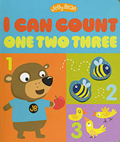 Jelly Bear: I Can Count One Two Three
