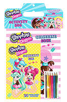 Buy Shopkins Shoppies: Activity Bag from BooksDirect