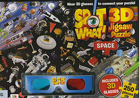Buy Spot What! 3D Jigsaw Puzzle: Space from Top Tales