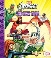 My Little Marvel Book: Avengers The New Team