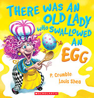 Buy There Was an Old Lady Who Swallowed an Egg from Top Tales
