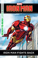 Marvel Ready-to-Read Level 2: Iron Man Fights Back