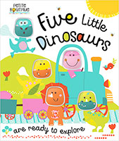 Buy Petite Boutique: Five Little Dinosaurs from BooksDirect