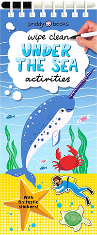 Buy Wipe Clean Under the Sea Activities from BooksDirect